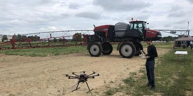 AgroNews: Rantizo to launch innovation electrostatic sprayers around UAV agrichemical application