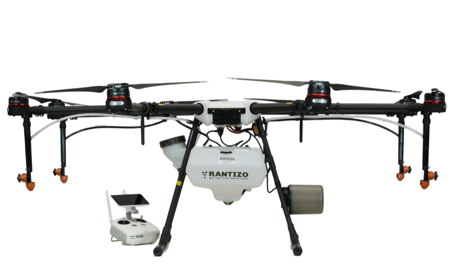 Rantizo Upgraded DJI Agras MG-1P Drone Sprayer