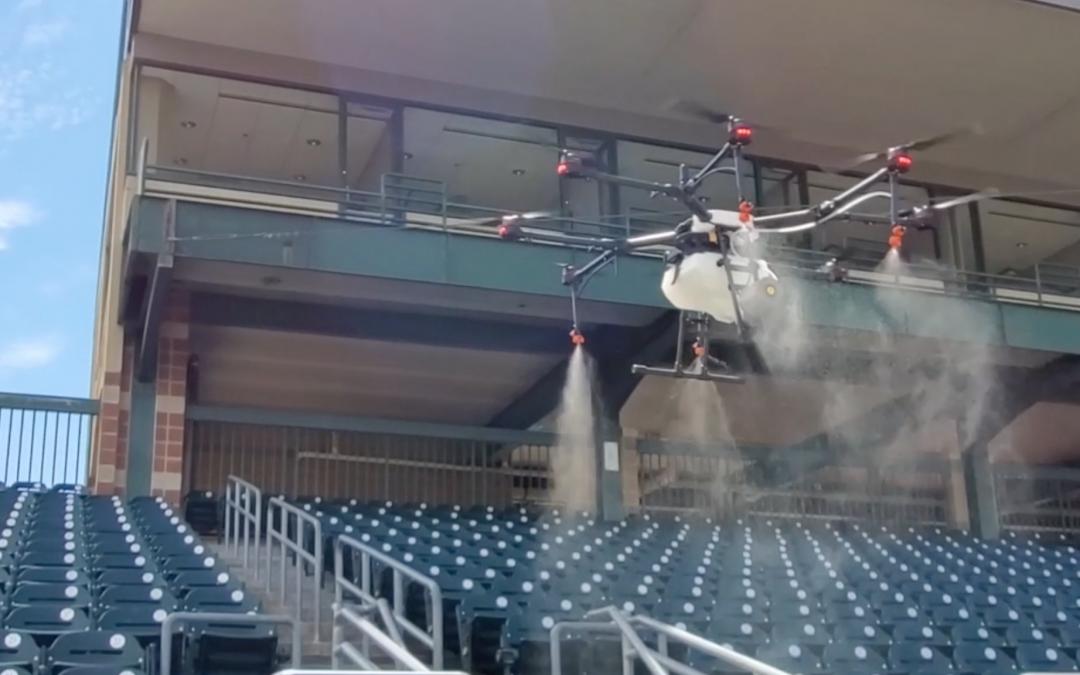 Clay & Milk: Rantizo is using drone technology to sanitize stadiums