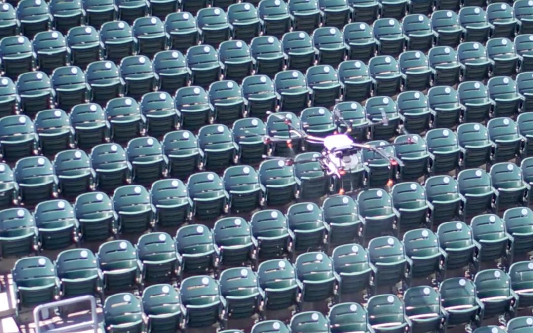 The Gazette: Rantizo uses drones to expand from crop spraying to stadium sanitizing