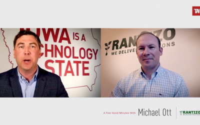 Technology Association of Iowa: A Few Good Minutes with Michael Ott