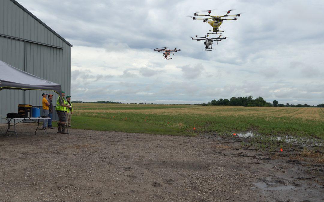 Rantizo flying multiple drones