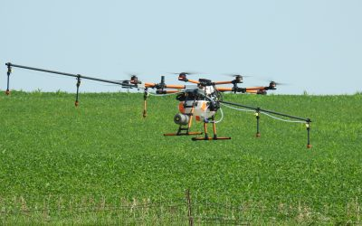 Ag Web: Dual purpose drones for agriculture