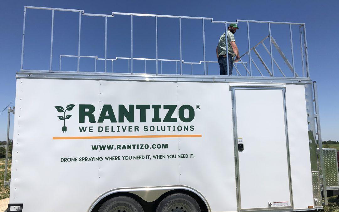 Precision Ag Reviews: Precision Ag Manufacturer Profile – Rantizo, applications via drone