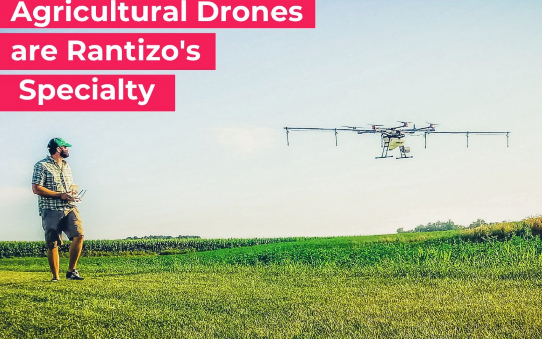 Agricultural drones are Rantizo's specialty - Mug News article