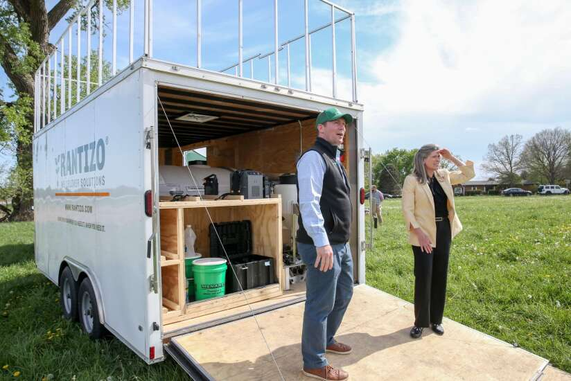 The Gazette: Ernst sees water quality benefits of agricultural drones