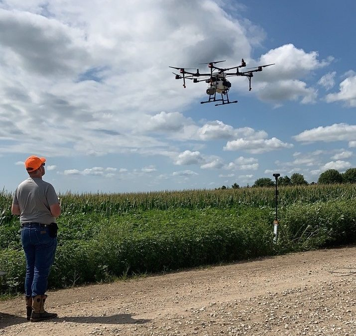 Agronomists discover efficiencies with Rantizo's agricultural drone system