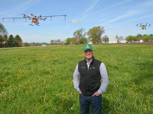 Progressive Farmer: Drones swarm farm fields