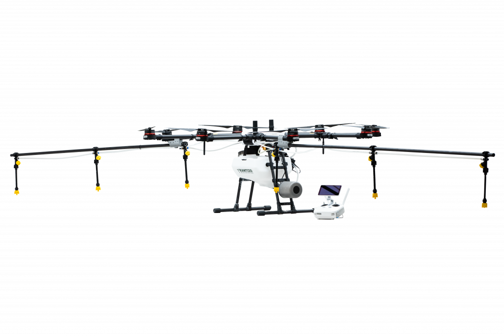 DJI Agras MG-1P agricultural drone sprayer