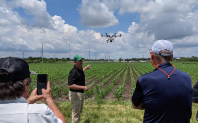 PrecisionAg: Michael Ott taking drone application from the drawing board to the field