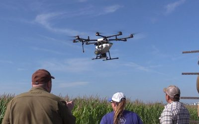 Iowa Agribusiness Radio Network: Drones seed cover crops on central Iowa farm