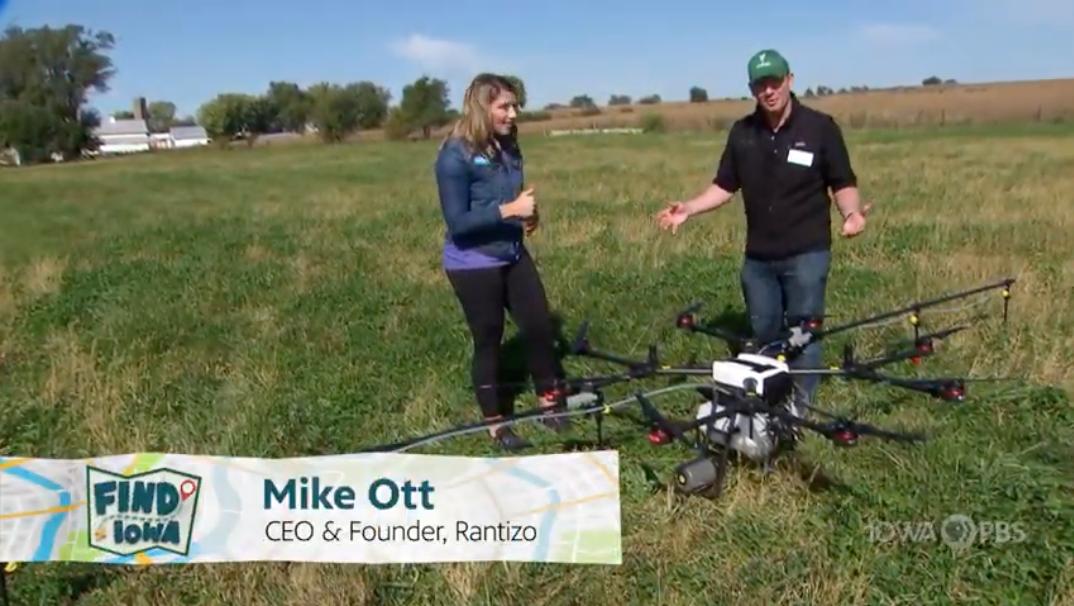 Iowa PBS: Farming with drones