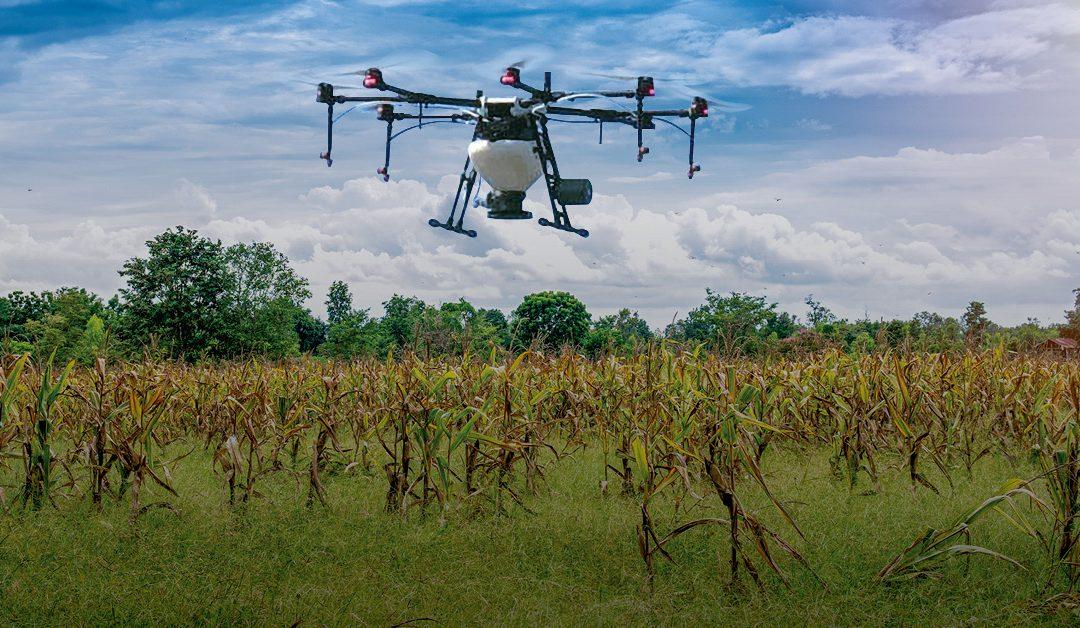 Rantizo applies cover crops with a drone